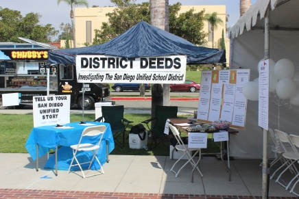 District Deeds Booth at Politifest