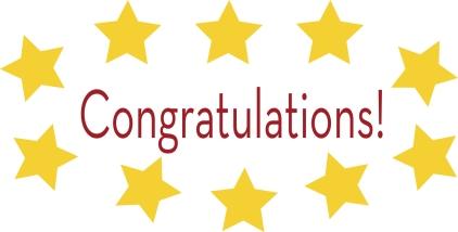 Congratulations stars
