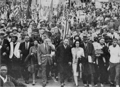Dr. Martin Luther King Selma to Montgomery March  - March 25, 1965