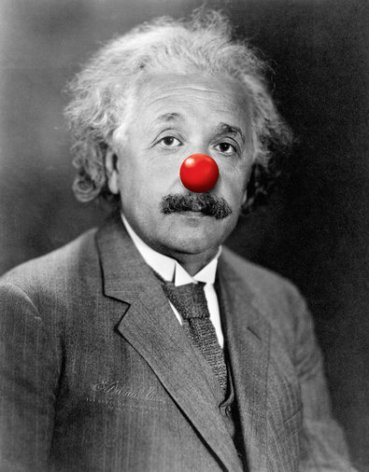 Albert Einstein publishes his Unified Red Nose Theory.