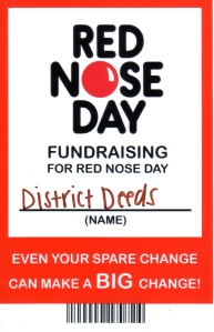 Red Nose Day - District Deeds
