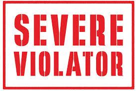 Severe Violator
