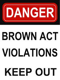 Brown Act Violations