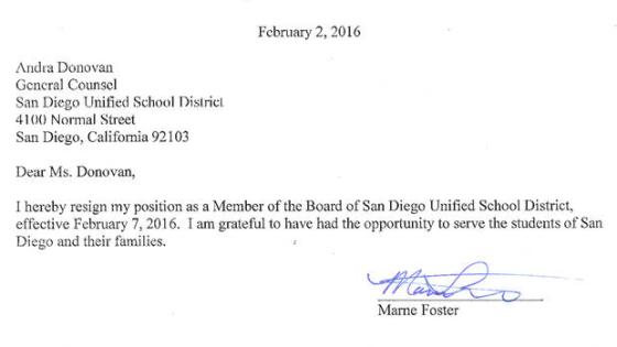 Marne-Foster-resignation