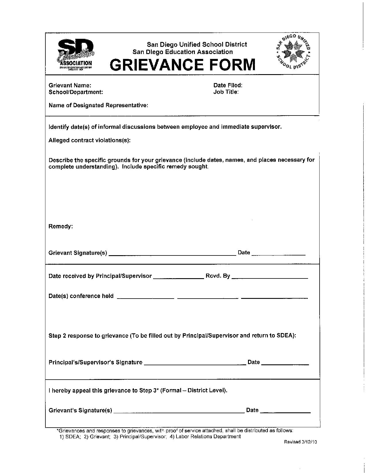District Deeds Welcomes San Diego Unified Teachers – GRIEVANCE ...